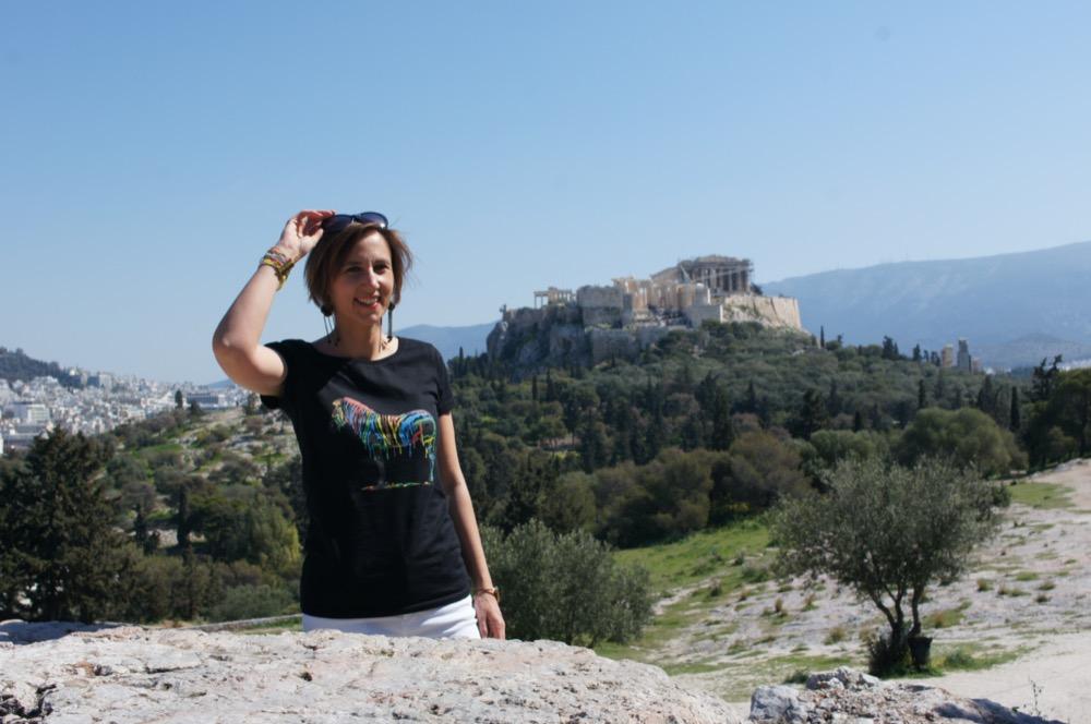 Laure, cofondatrice de Vivre Athènes