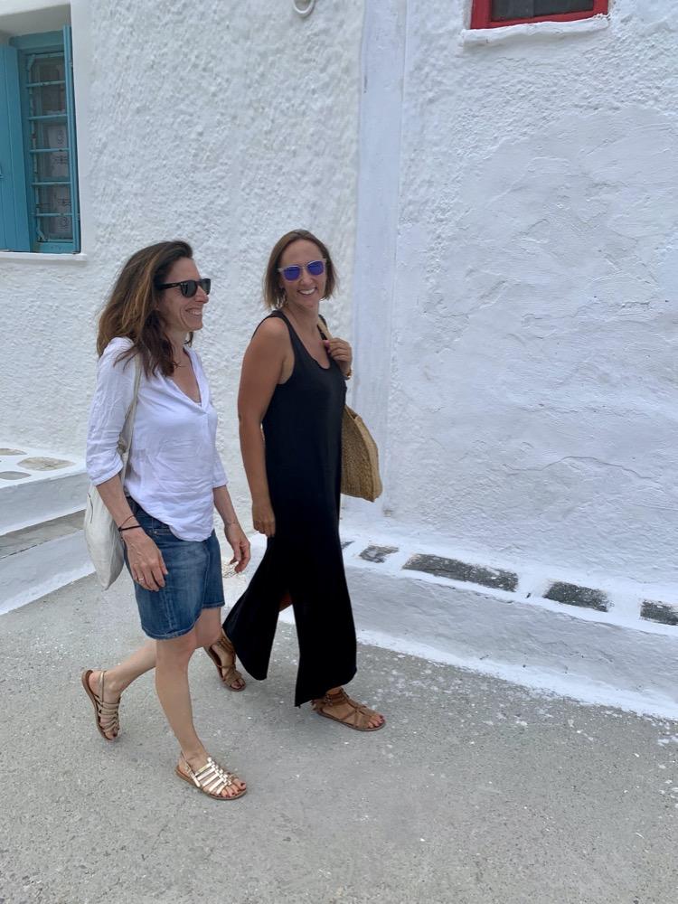 Architecture Maisons Blanches Grèce